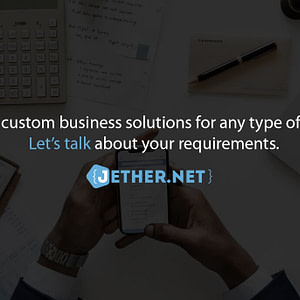 We offer custom business solutions for any type of business